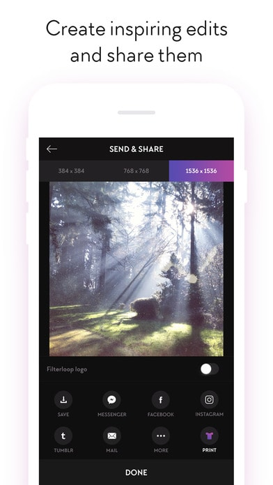 Filterloop Pro - Analog Film Filters and Effects