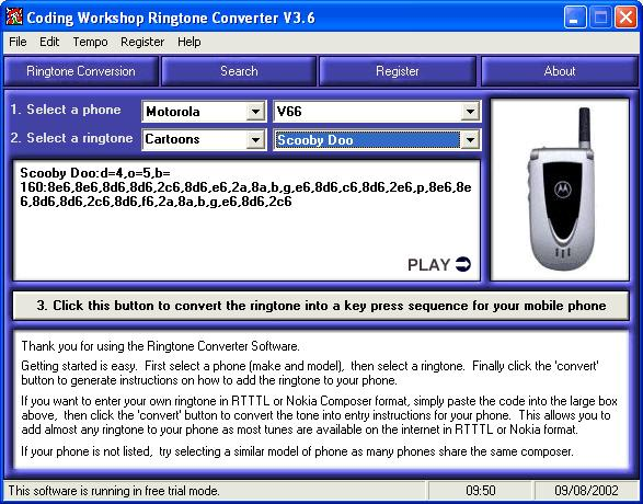 Coding Workshop Ringtone Converter