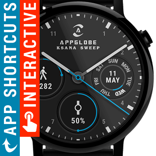 Ksana Sweep Watch Face