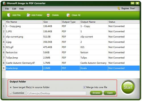 iStonsoft Image to PDF Converter