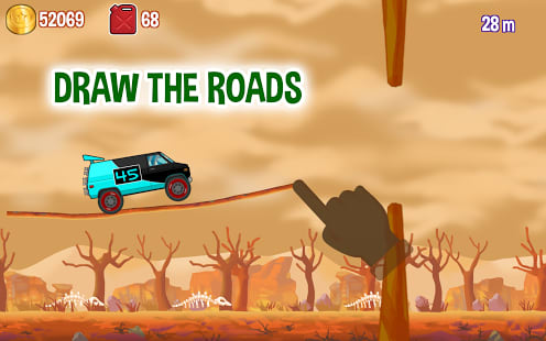 Road Draw - Hill Climb Race