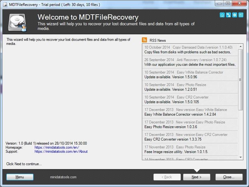 MDT FileRecovery