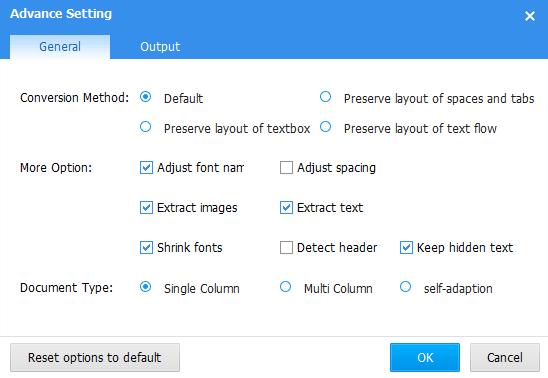 Deli PDF Converter