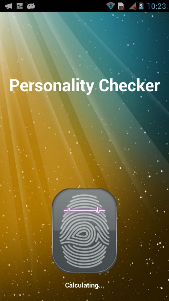 Personality Checker Test Prank