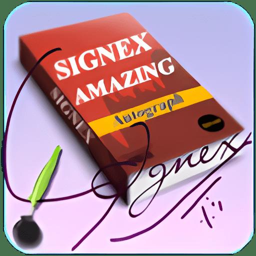 Signex Autograph Maker