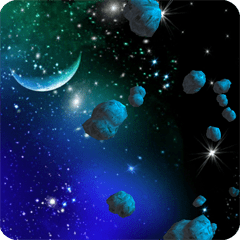 3D Asteroids Live Wallpaper 1.10
