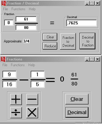 Fractions n Decimals