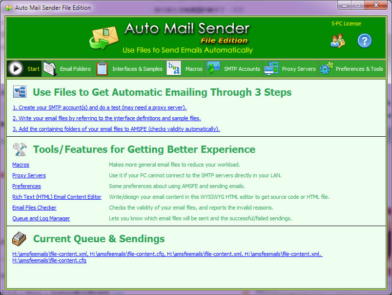 Auto Mail Sender File Edition
