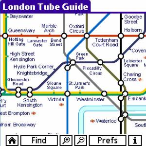 London Tube Guide and Street Map