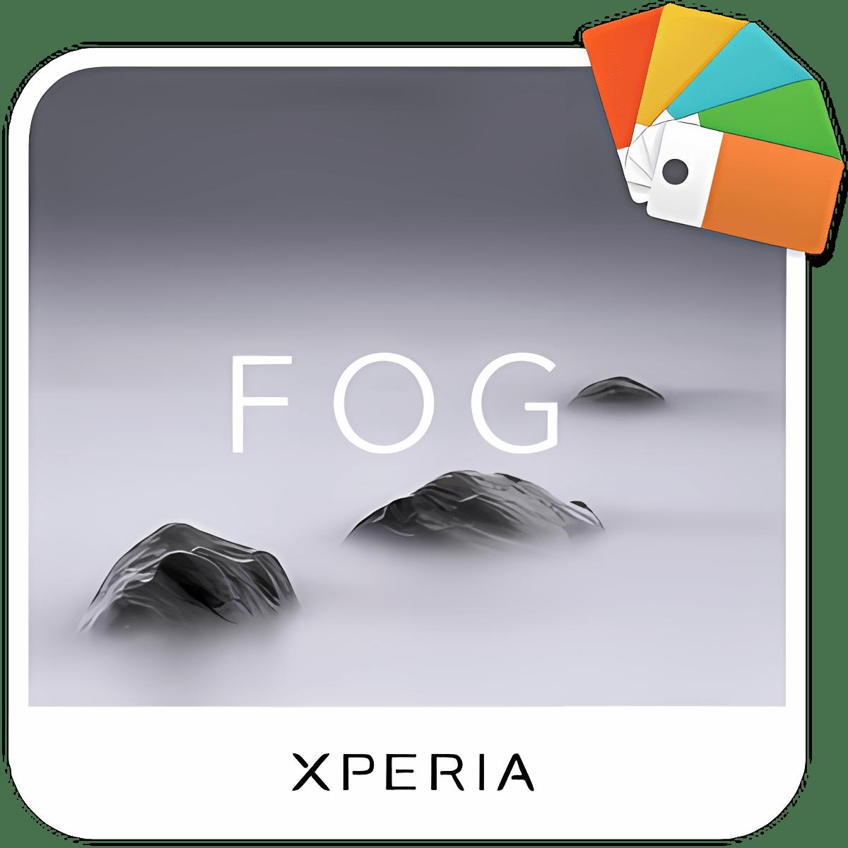 XPERIA™ Fog Theme 2.0.1