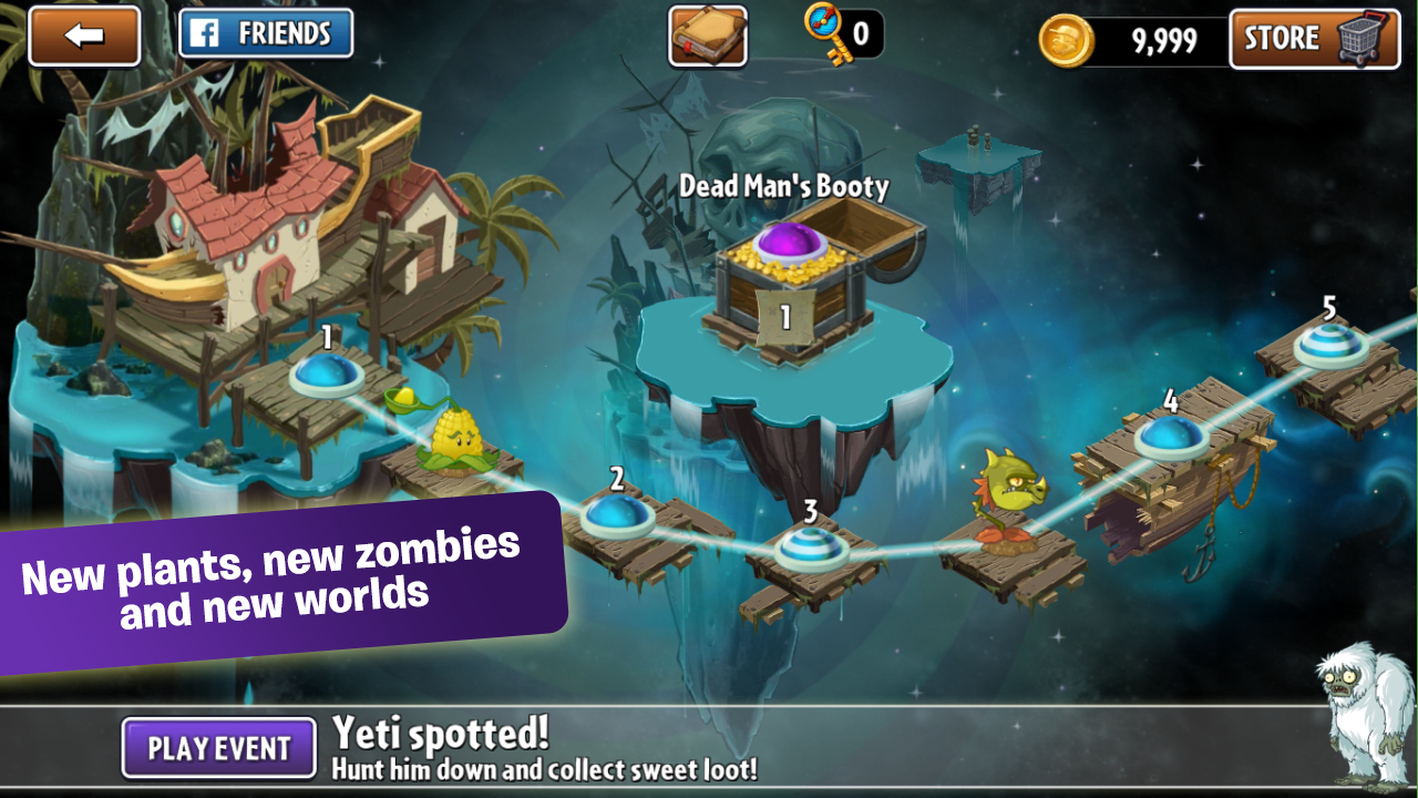 Plants vs. Zombies 2 for Android - Download