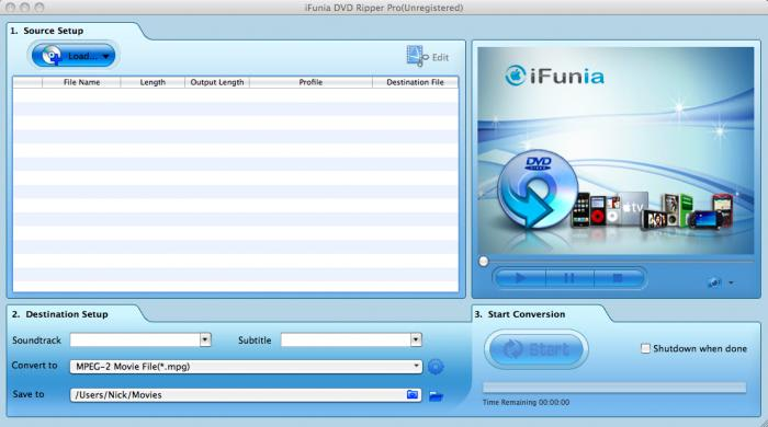 iFunia DVD Ripper Pro for Mac