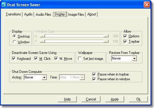 Dcat Screen Saver