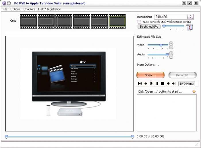 PQ DVD to Apple Tv Video Converter Suite