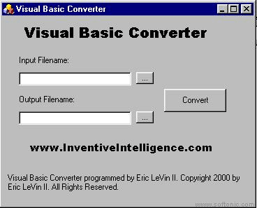 Visual Basic Converter