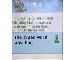 Python for S60