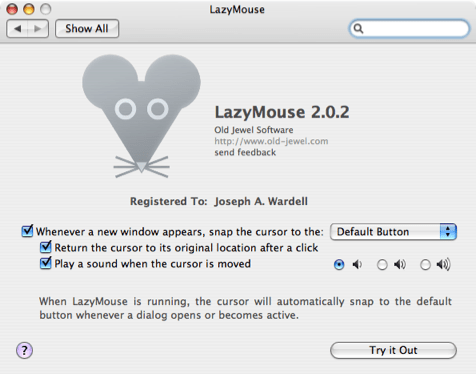 LazyMouse