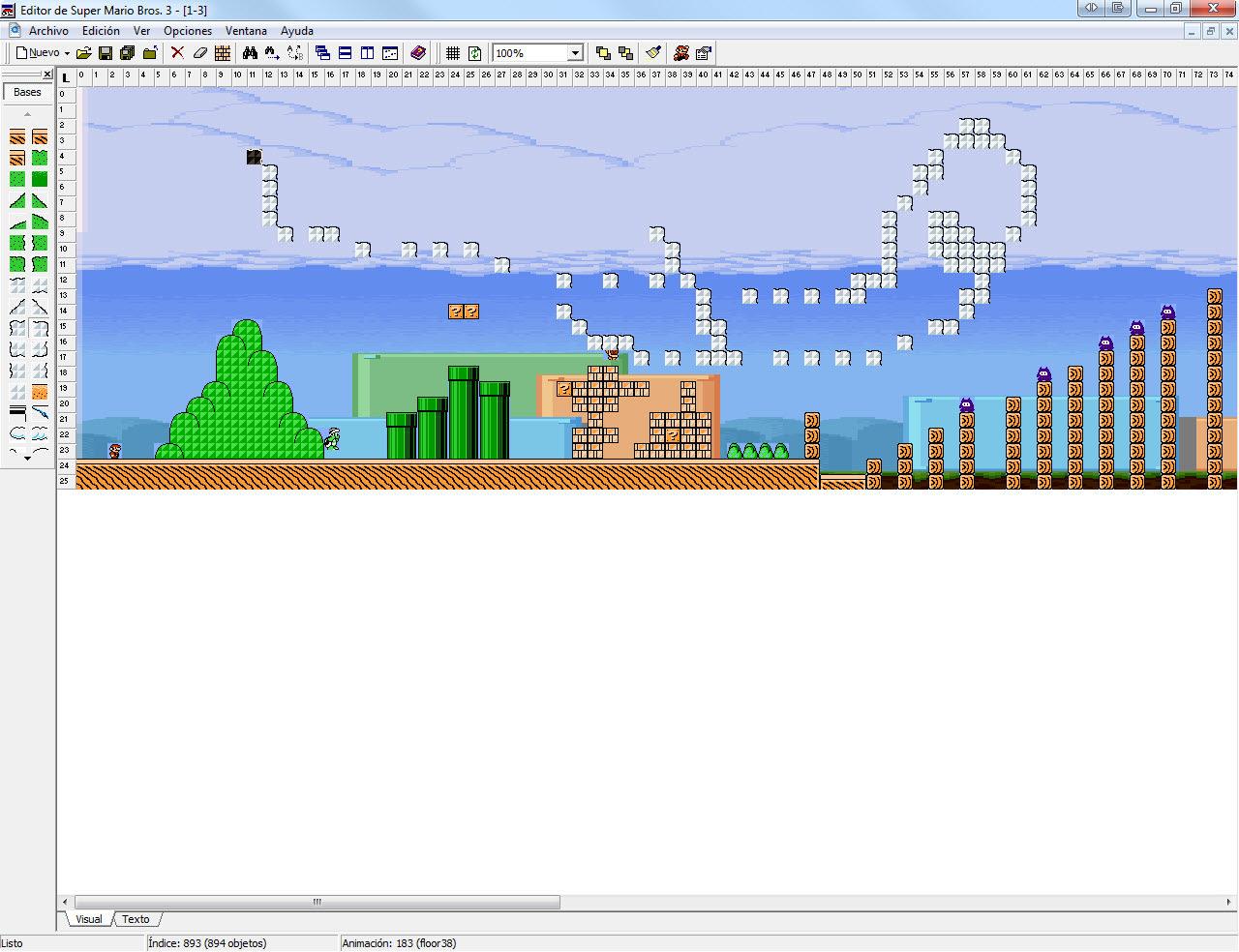 Editor de Niveles Super Mario