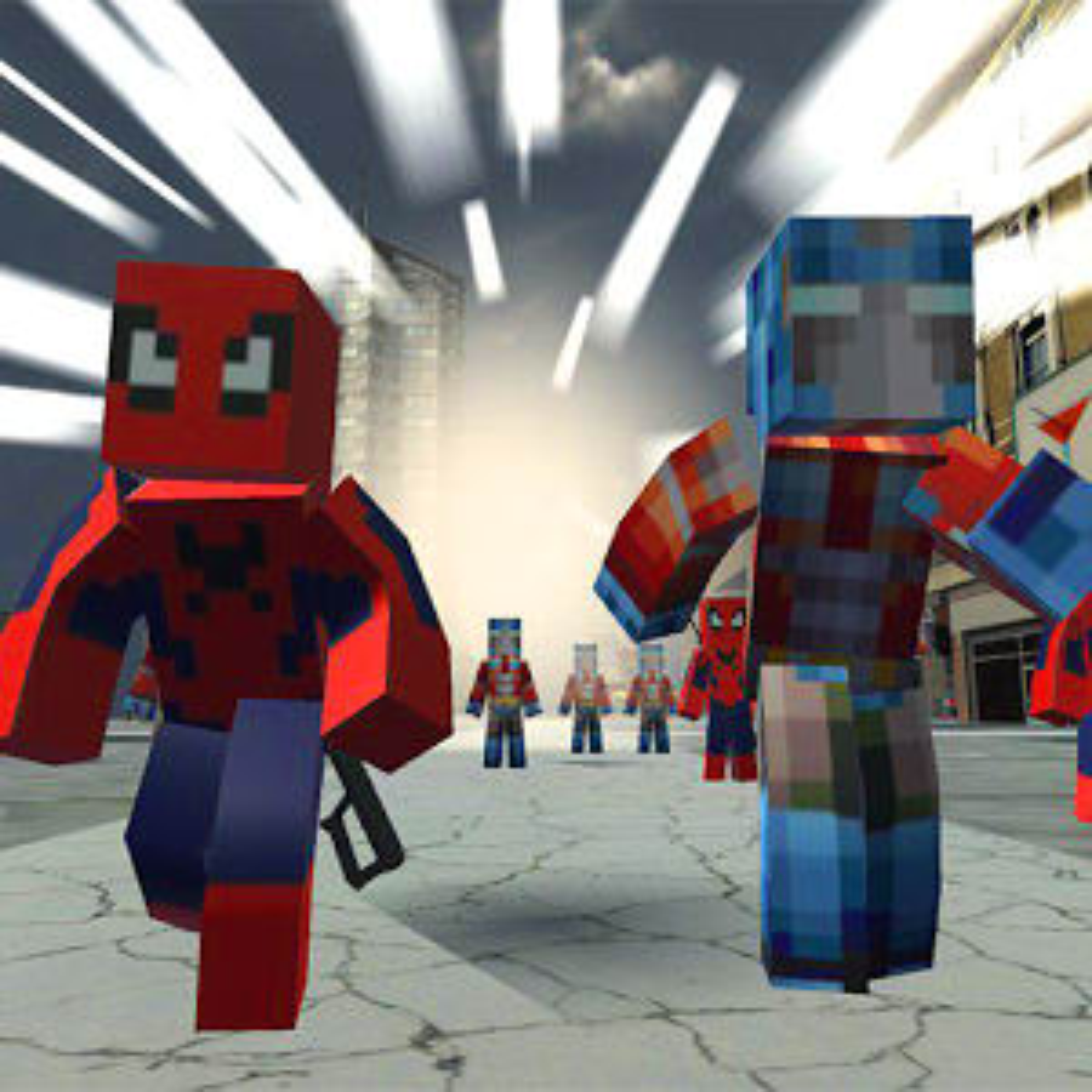 Call of Spider Robot Civil War
