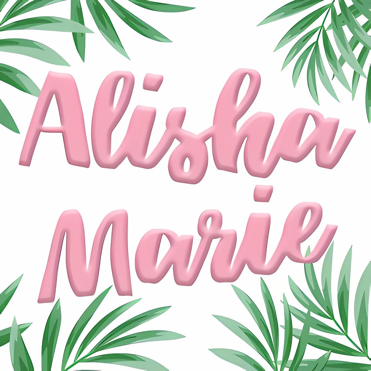 Alisha Marie 6.8.0