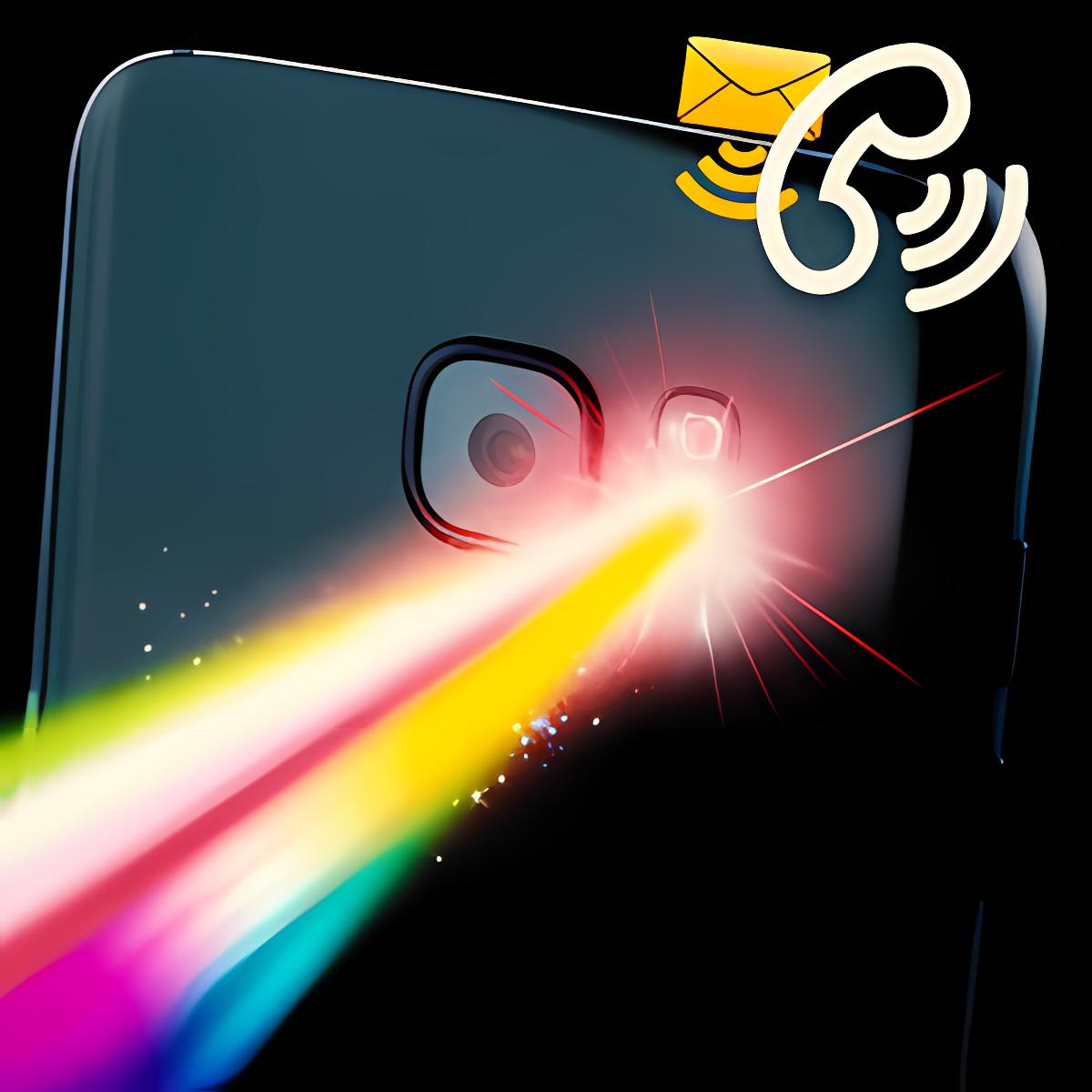 Color Flash Light Alerts Call!