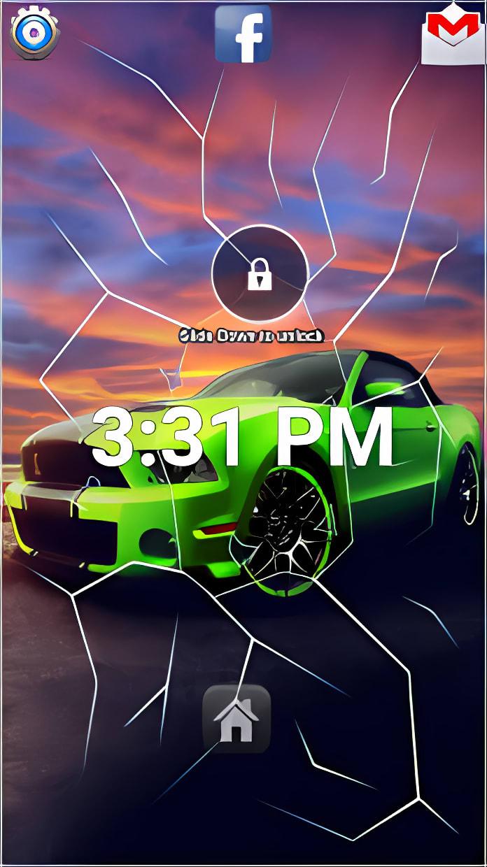 Cobra Mustang Lock Screen