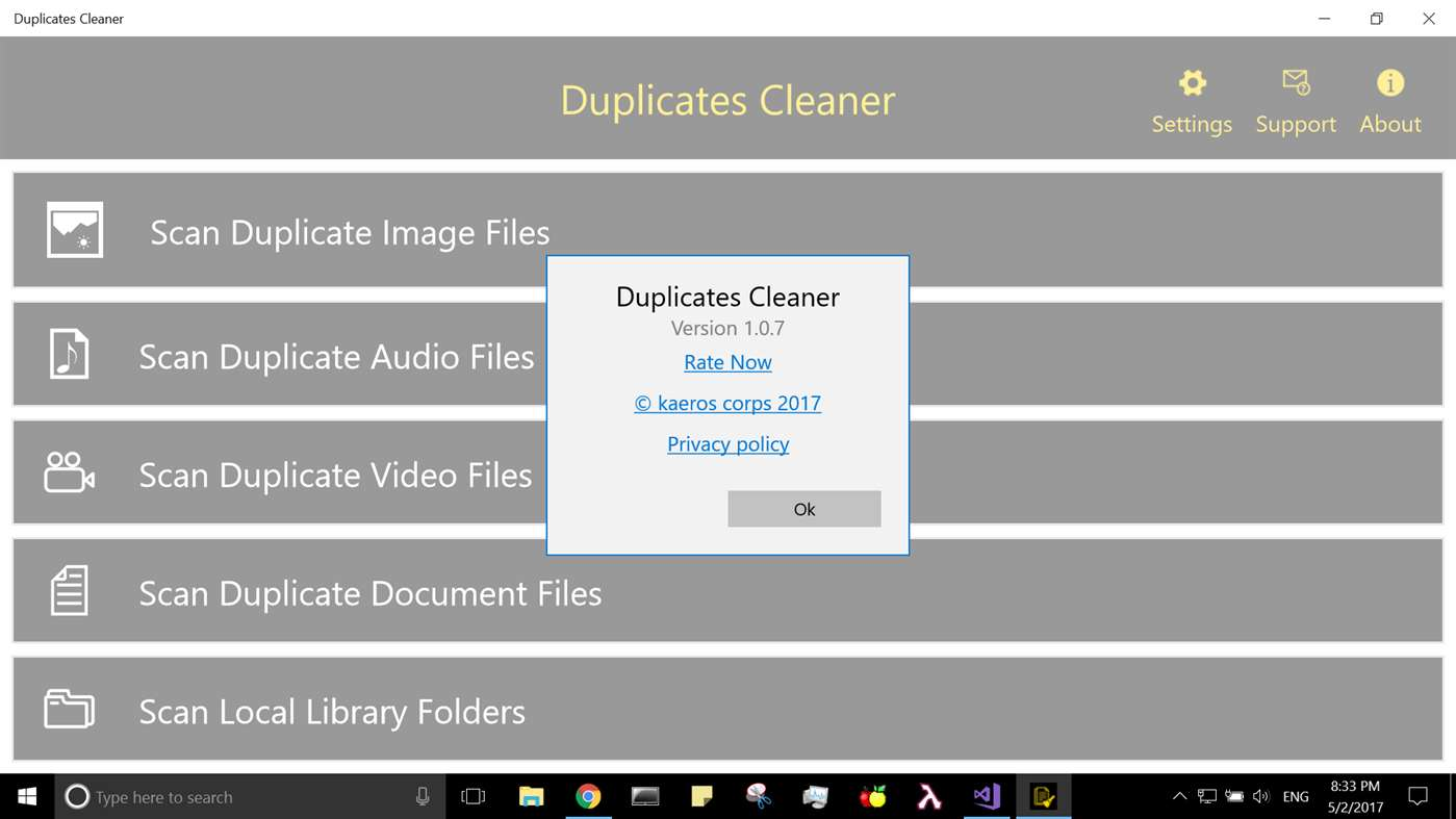 duplicates Cleaner