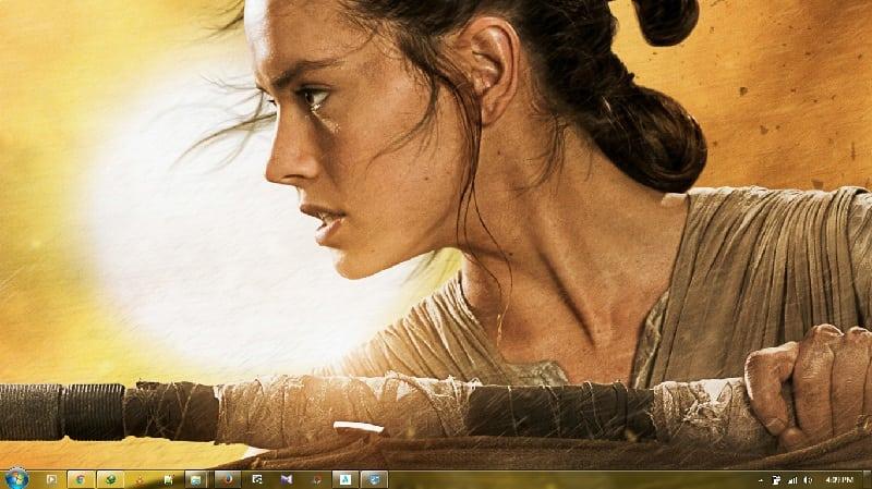 Star Wars Episode 7 - The Force awakens Themepack