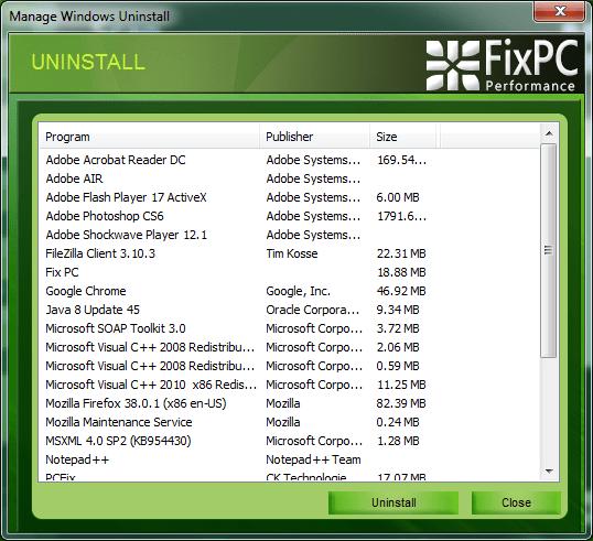 FIX PC Cleaner
