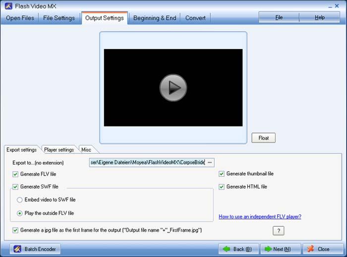 Flash Video MX