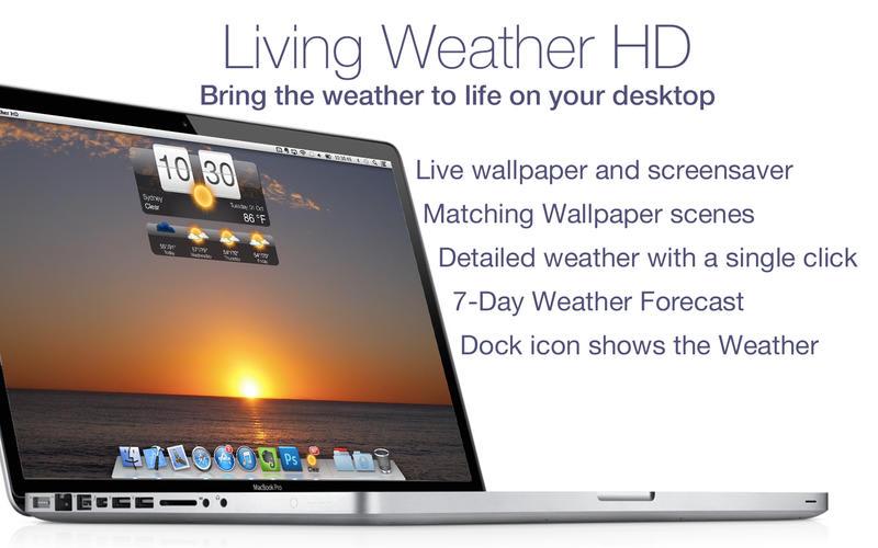 Weather HD+: Forecast, Live Wallpaper, Screensaver