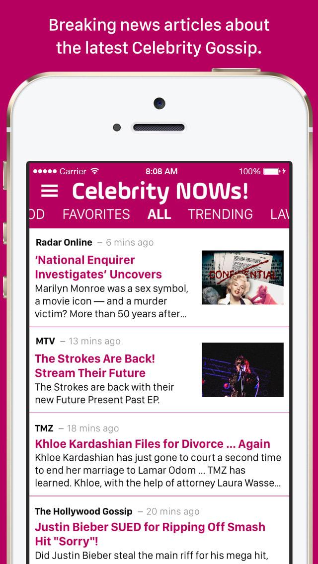 Celebrity NOWs!