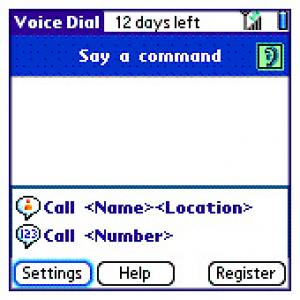 Treo 650 Voice Dialling