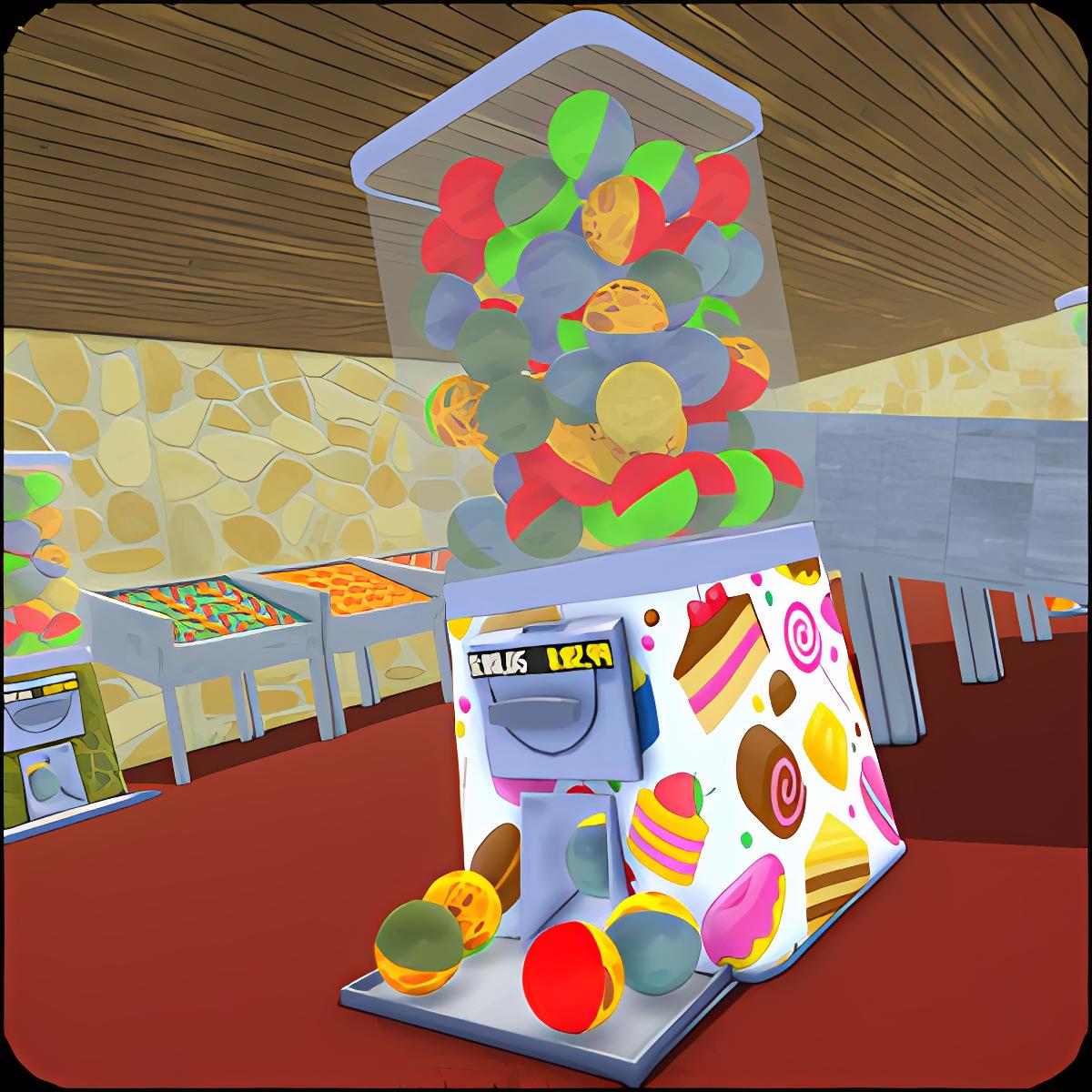 Gumball Machine Candy Shop 1.0