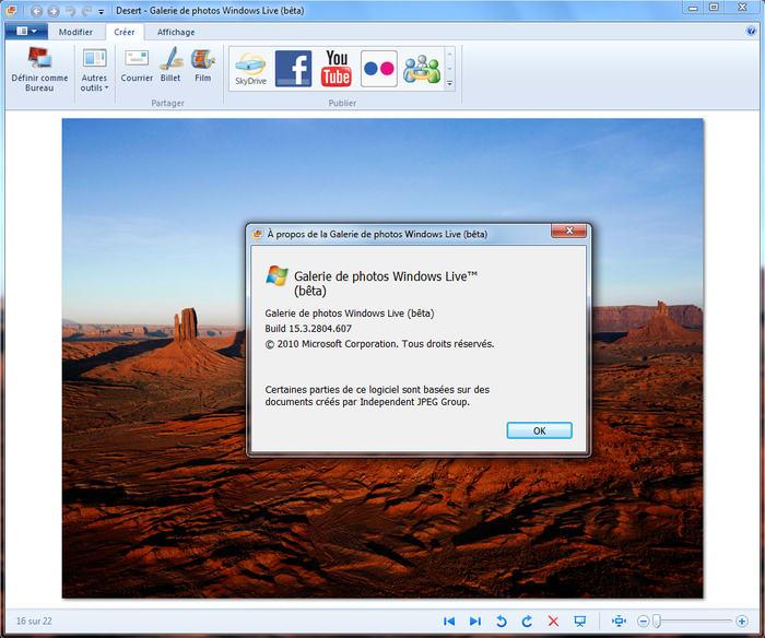 Windows Live Galerie de Photos