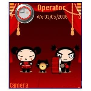 Pucca in Orange