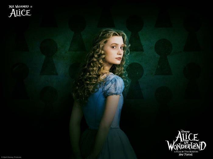Alice in Wonderland Wallpaper: Alice