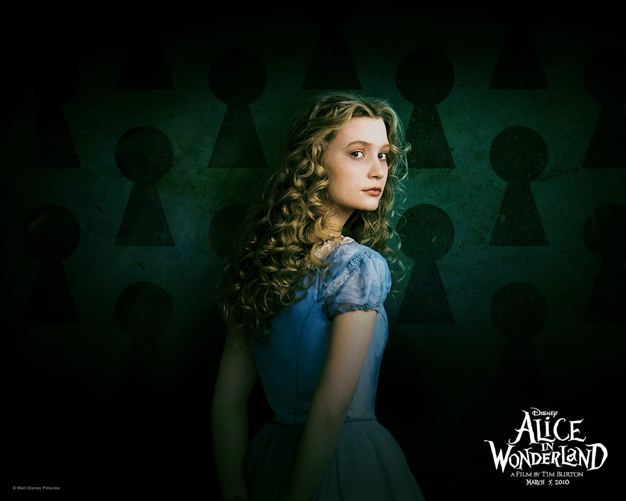 Alice in Wonderland Wallpaper: Alice
