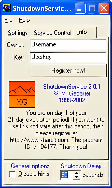 ShutdownService