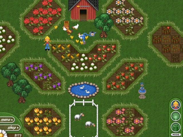 This Simulation Game Puts You In Charge Of A Farm And Youu0027ll Need To Choose  What Flowers, Vegetables And Animals To Have And Manage Your Budget To Be  ...