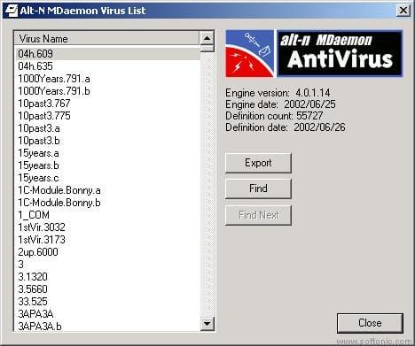 Alt-N MDaemon AntiVirus
