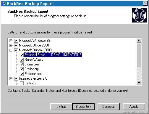 BackRex Expert Backup