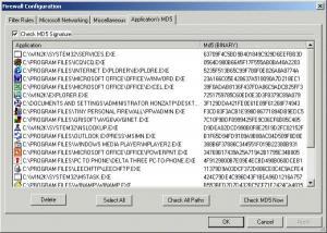 Kerio WinRoute Firewall avec McAfee intégré