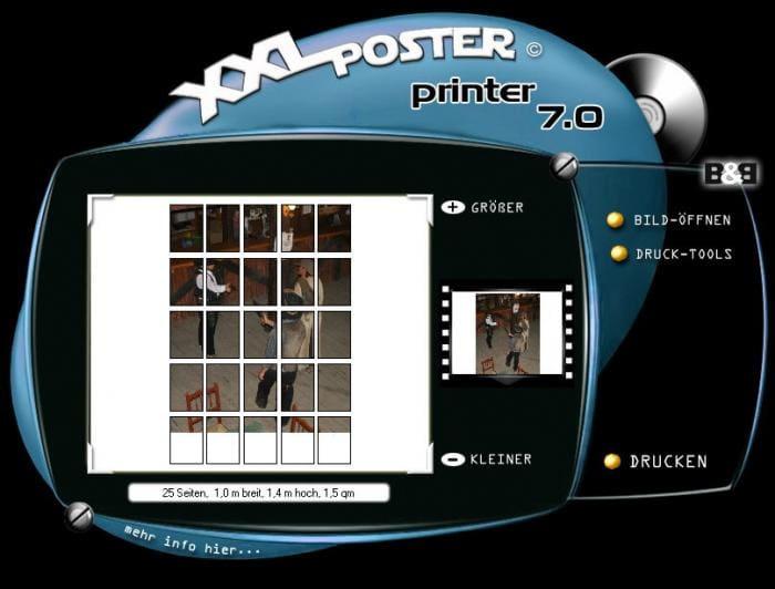 Portable XXL Poster Printer