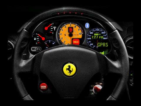 Ferrariwheel Bold 9700 Theme