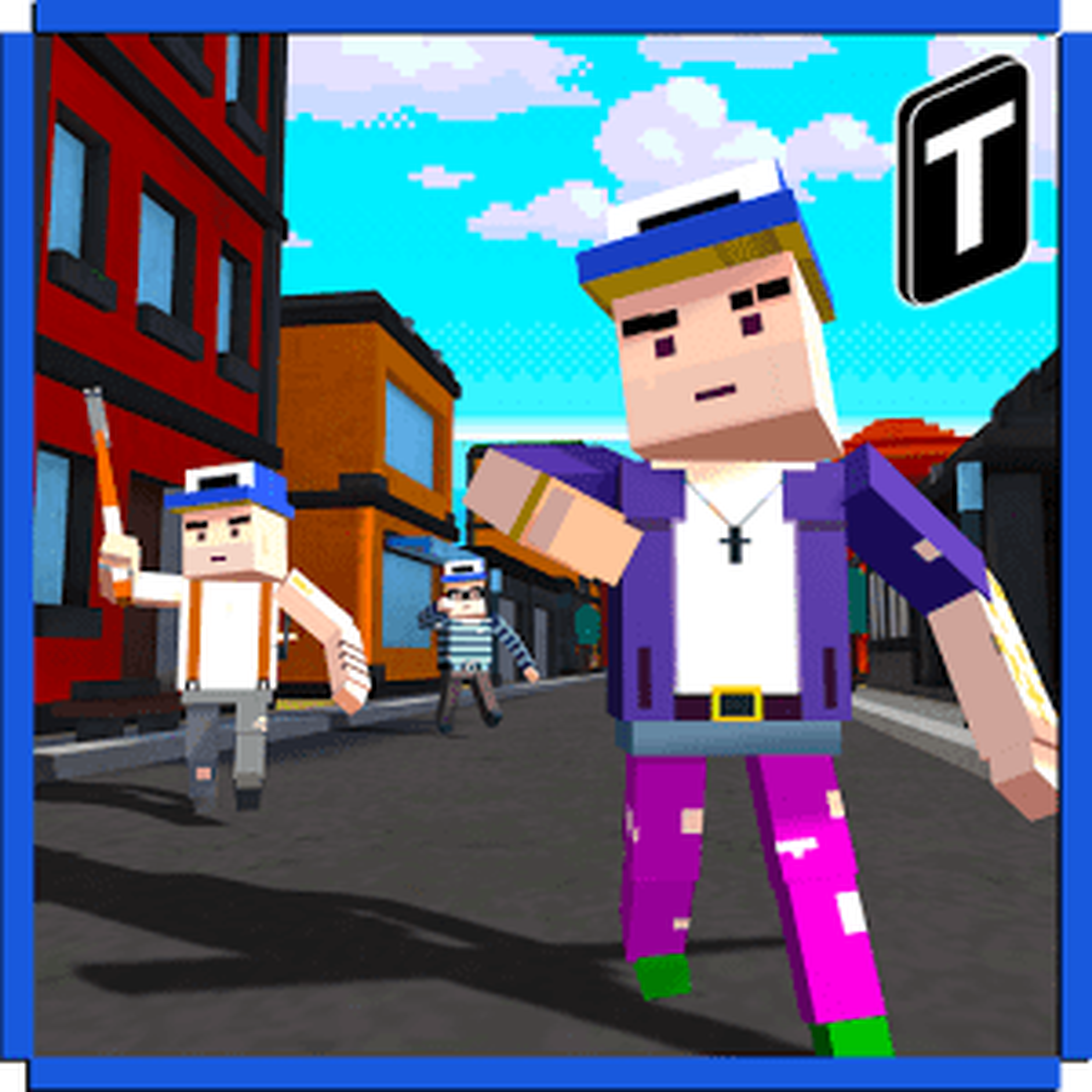 Blocky Mutant Hero.io 3D