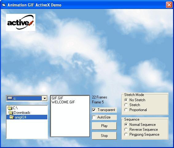 Animation GIF ActiveX