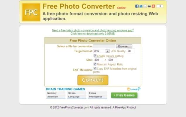 Free Photo Converter Online