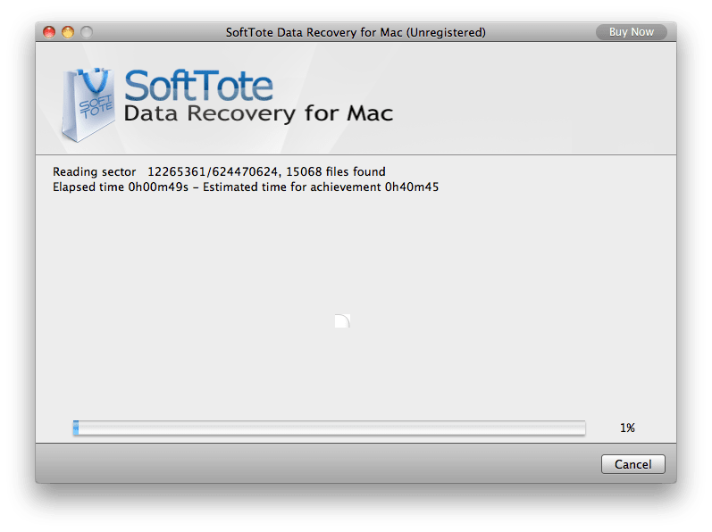 SoftTote Data Recovery for Mac