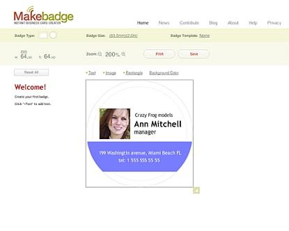 MakeBadge Badge Maker